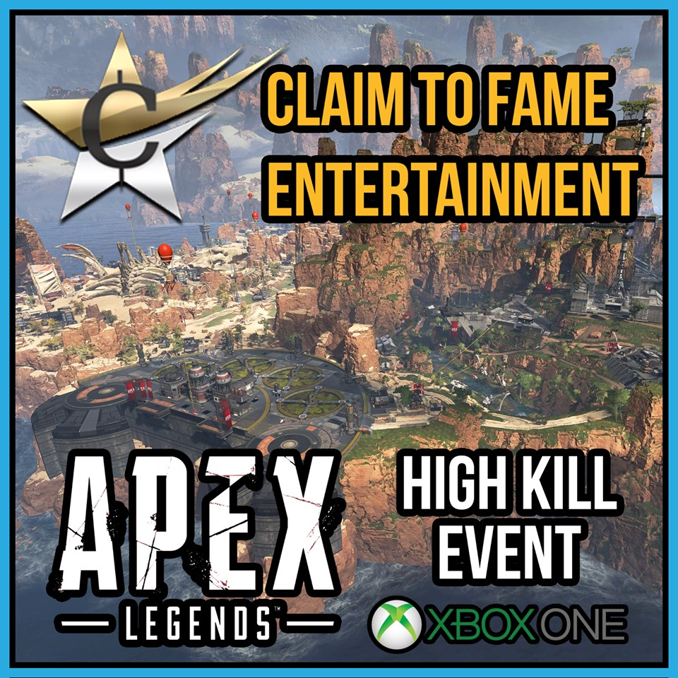 Claim to Fame Entertainment - Apex Legends